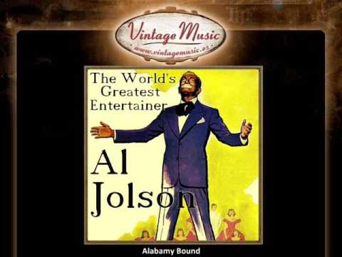 AL JOLSON CD Vintage Vocal Jazz. The World's Greatest Entertainer , Alabamy Bound  ...