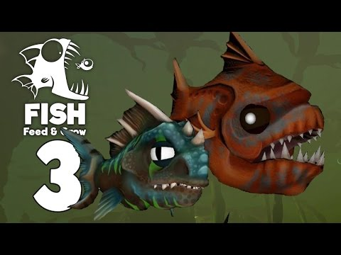 Big Fat Ubur Fish! - The Swamp - Feed and Grow Fish Gameplay - Part 3