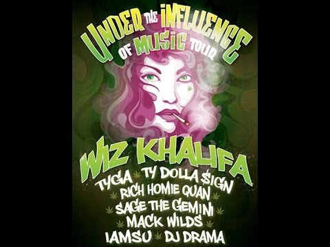 UNDER THE INFLUENCE OF MUSIC TOUR 2014 MOUNTAIN VIEW CALIFORNIA