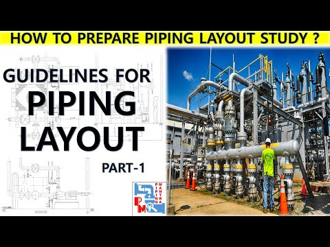 GUIDELINES OF PIPING LAYOUT | PART 1 | PIPING MANTRA |