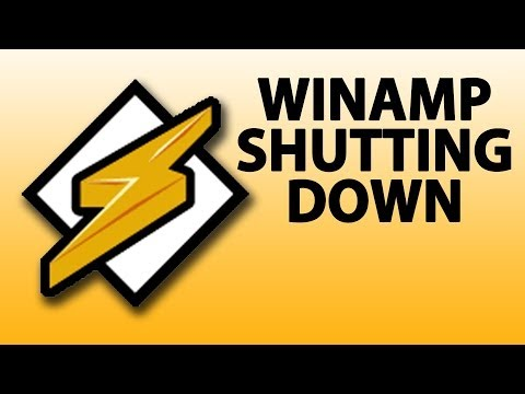 Winamp Shutting Down After 15 Years