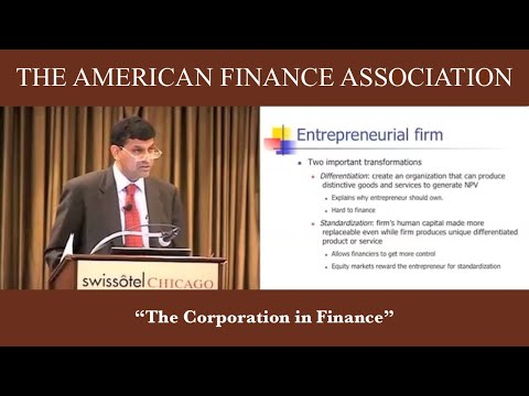 The Corporation in Finance