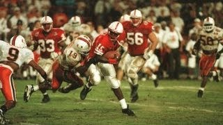 1995 Orange Bowl #1 Nebraska (12-0) vs #3 Miami (10-1)
