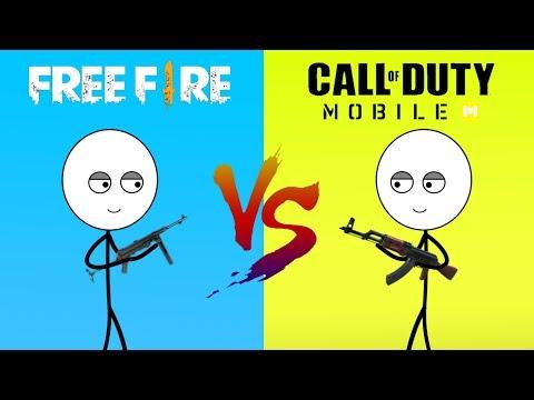 Free Fire Gamer Vs Call Of Duty Gamer