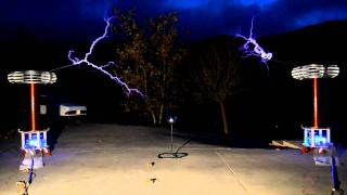 W.W.T. 2012 - The Faraday Copter / Quadrotor vs. Tesla Coil - Part 1