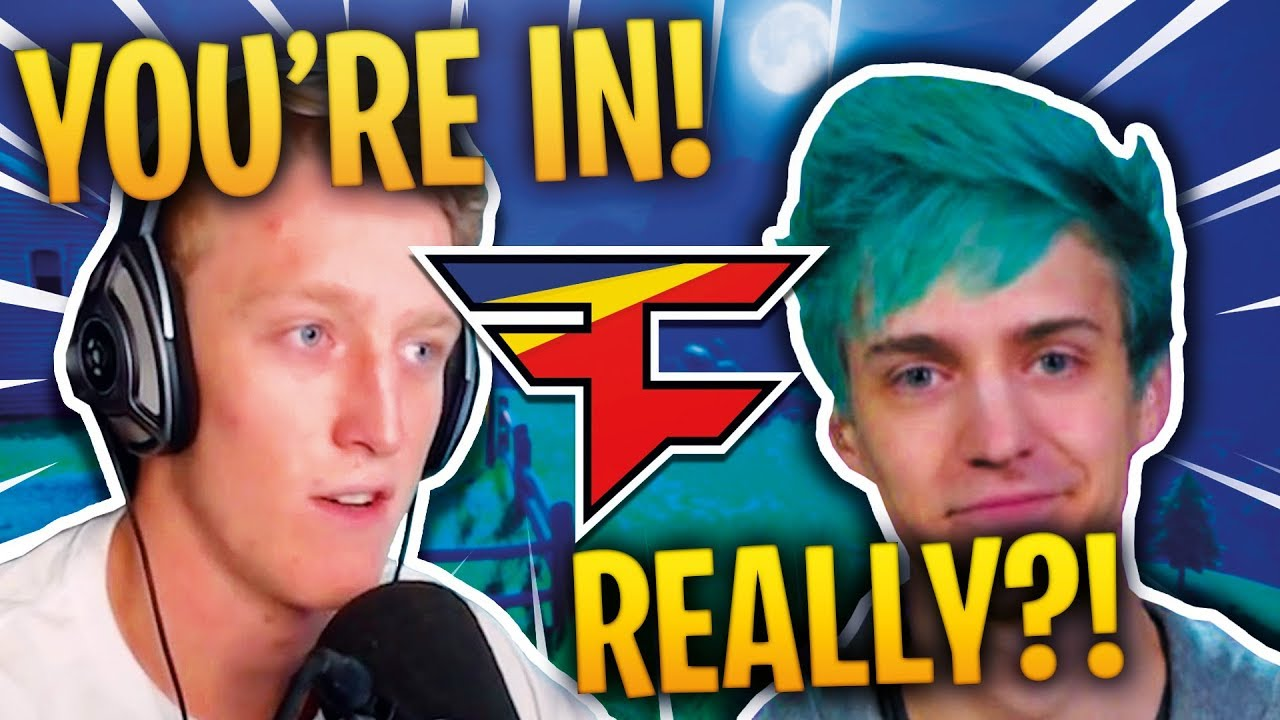 NINJA JOINS FAZE *CONFIRMED!* Fortnite FUNNY Moments