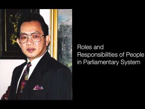 Roles and Responsibilities of People in Parliamentary System
