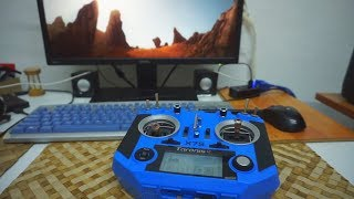 How to play FPV Freerider on PC using Taranis Q X7S radio