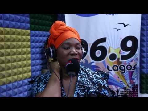 India Arie On Cool FM As She Visits Nigeria for The First Time