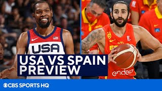 USA Basketball VS Spain Quarterfinals Preview in the Tokyo Olympics