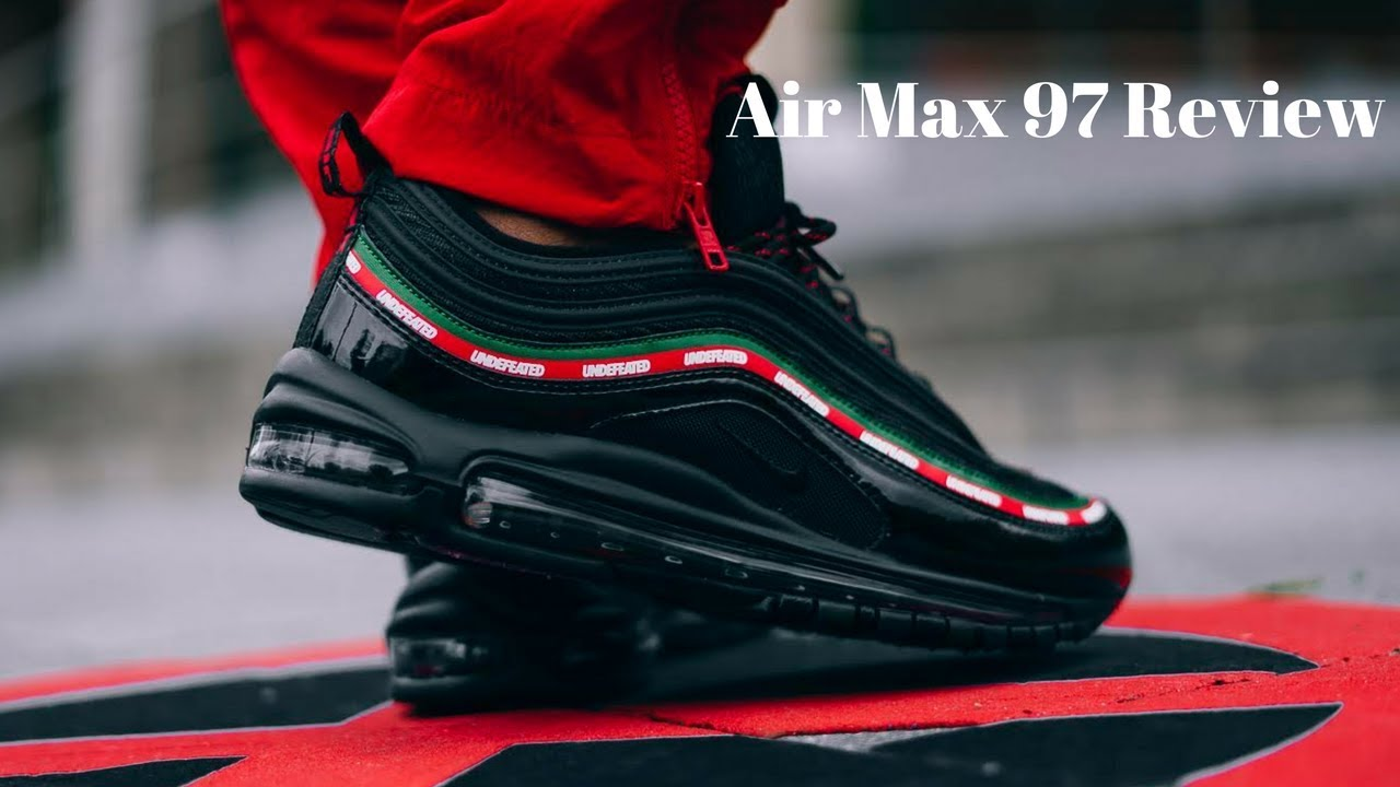 huge selection of dcd16 27d15 Undefeated X Air Max 97 Review