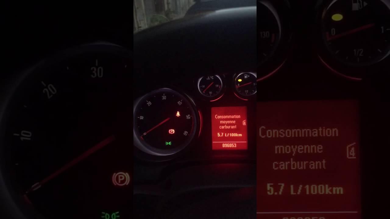 opel astra j 1.7 cdti 110 error code pedal test - youtube