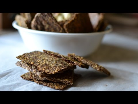 Receta Low carb: Crackers/Chips/Galletas saludables!