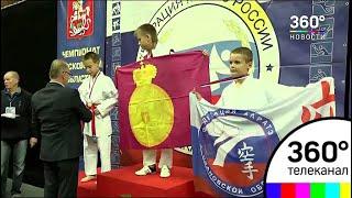 Сразу три турнира по каратэ прошли в Одинцовском спортивно-зрелищном комплексе