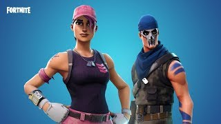 *NEW* Free Skins in Fortnite Battle Royal - Warpaint & Rose Team Leader