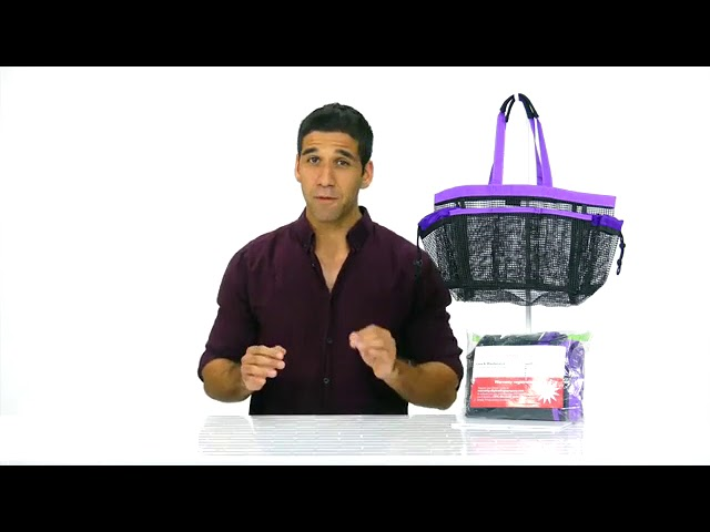 Product Video - Mesh Shower Caddy⠀