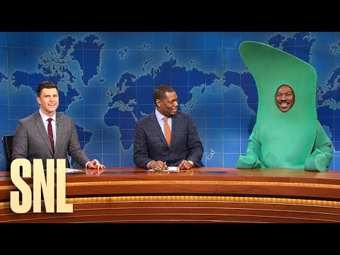 image for Eddie Murphy Returns To SNL As Gumby, Slams Bill Cosby