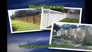 Foremost Fence  The Superb Provider Of Vinyl Fence In Usa
