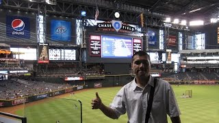 メジャーリーグ観戦 アリゾナ州フェニックス チェイスフィールド行ってきました。