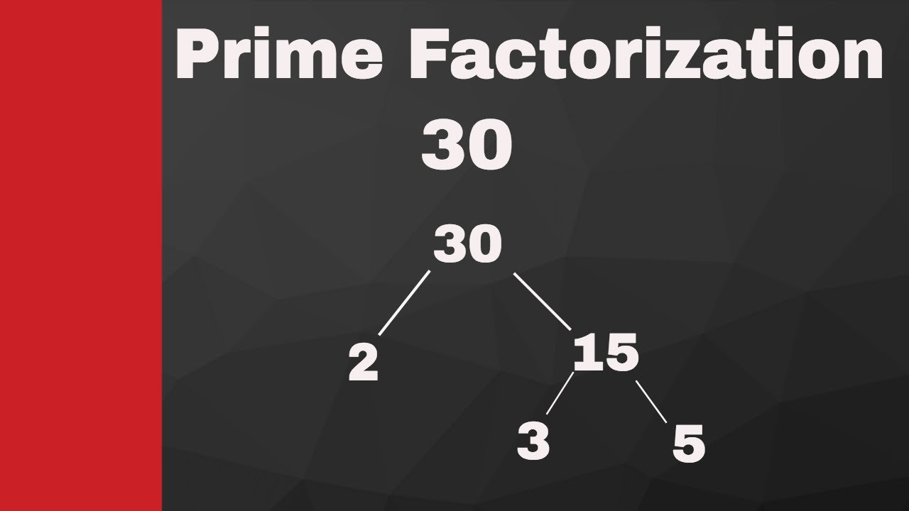 what is the factors of 30