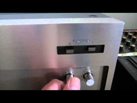 Sony TAN-8550 Power Amplifier - Classic Low Distortion Music Power