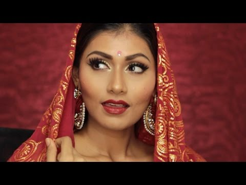 THE ULTIMATE INDIAN BRIDAL/WEDDING MAKEUP TUTORIAL | Bosslady Shruti