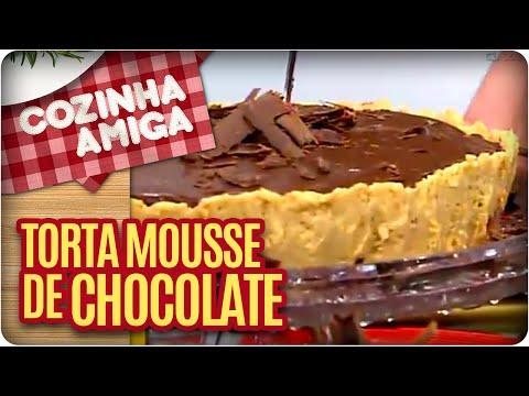 Receita: Torta Mousse De Chocolate - Cozinha Amiga