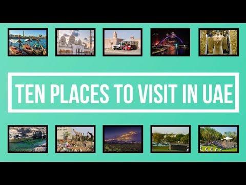 Amazing Ten Places to visit in United Arab Emirates UAE | Dubai