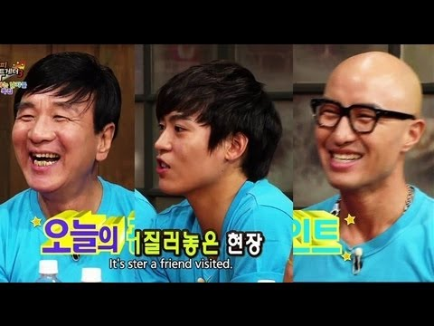 Happy Together - Housekeeping Men Special w/ John Park, Jung Taeho & more! (2013.10.02)