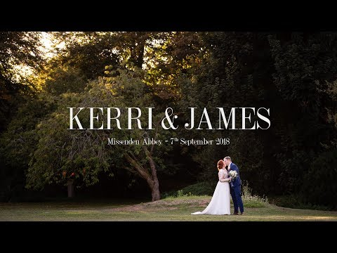 Missenden Abbey Wedding - Kerri and James' Wedding