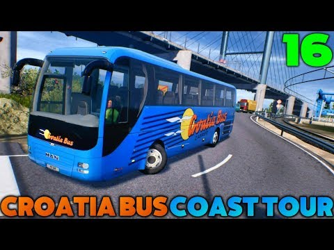 Fernbus Coach Simulator - Croatia Bus Coast Tour - #16