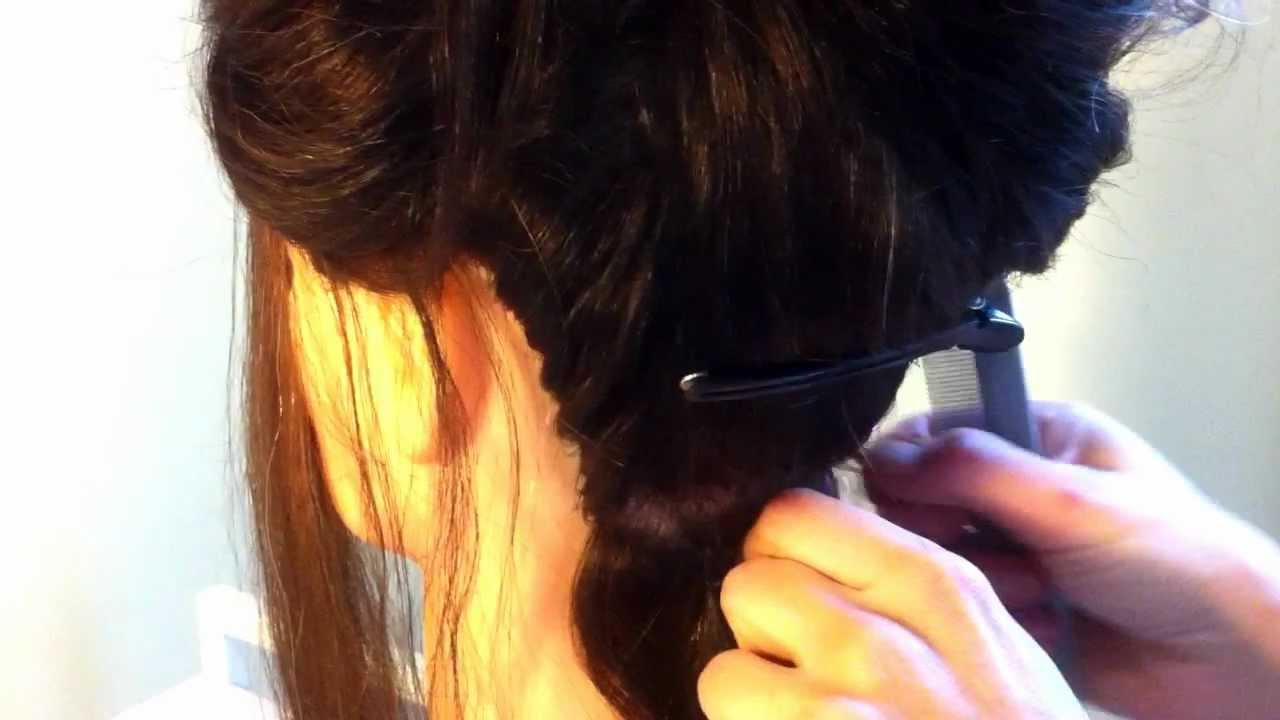 How To Apply Microbead Hair Extensions Melbourne 1800 696 140 Youtube