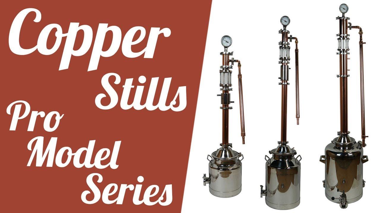 Copper Stills Pro Model Series