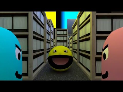 PacMan 3D - The Movie