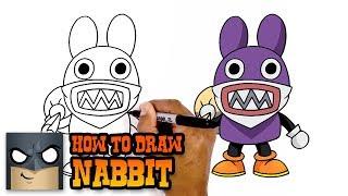 How to Draw Nabbit   Super Mario (Art Tutorial)
