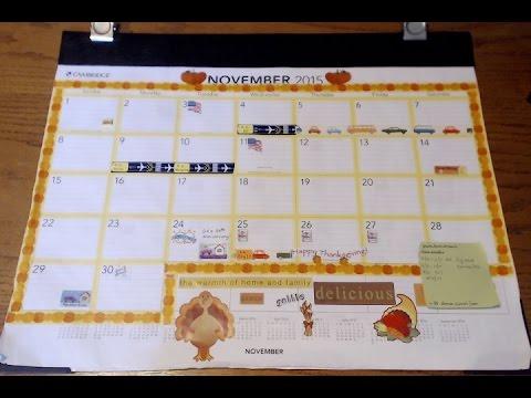 Family Calendar & Planner System Organization
