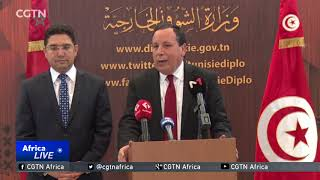 Morocco, Tunisia foreign ministers discuss increasing economic exchange