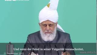 Beitrag: Muslime reagieren auf Schmähungen