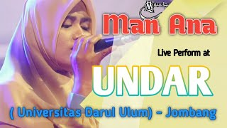 Download Lagu MAN ANA - Live Perform At UNDAR (Universitas Darul Ulum) Jombang mp3