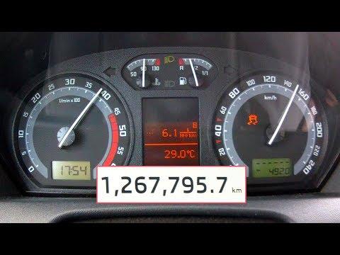 Skoda Fabia 1,9 TDI With 1 267 000 Km - Acceleration 0-200 Km/h