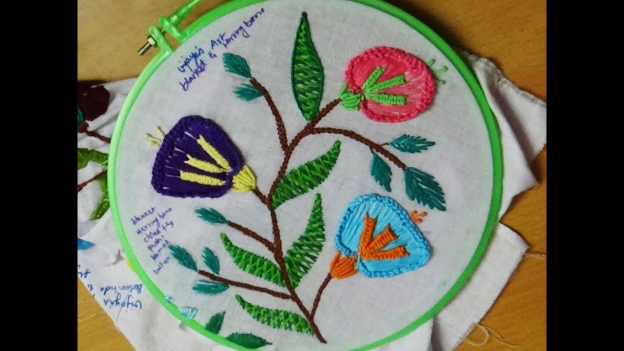 Herringbone Embroidery Designs