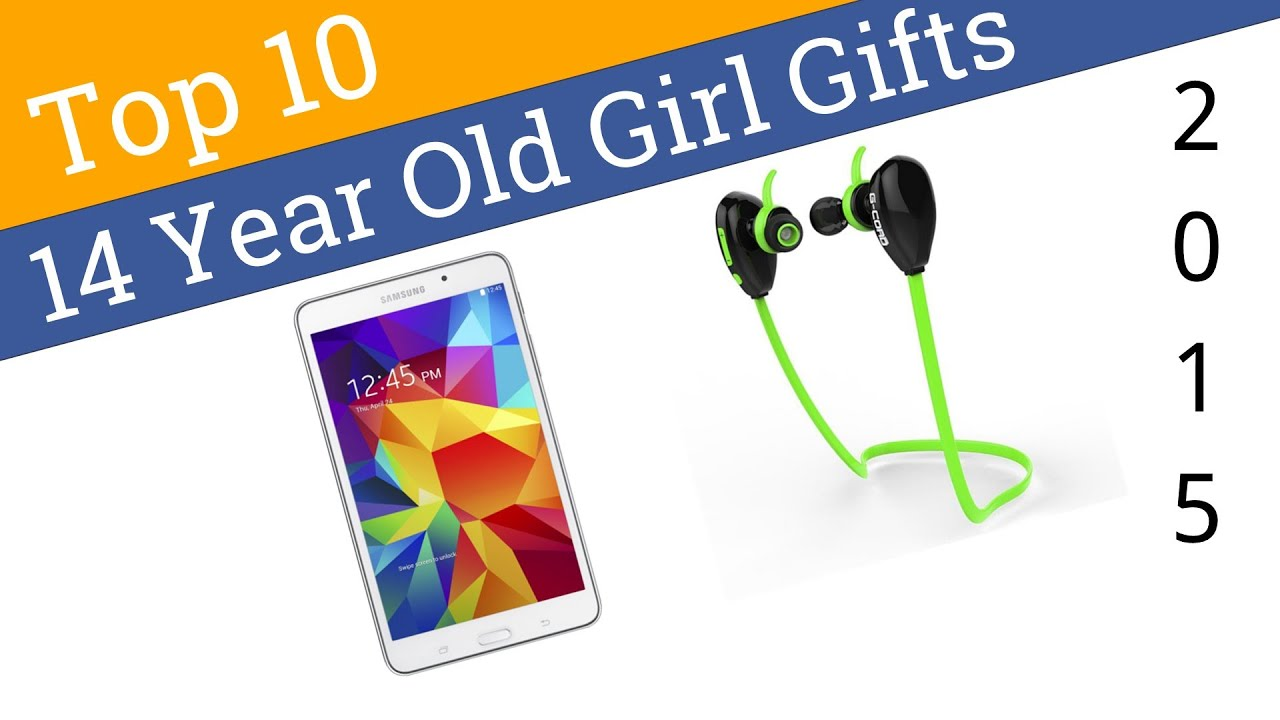 10 Best 14 Year Old Girl Gifts 2015 - YouTube