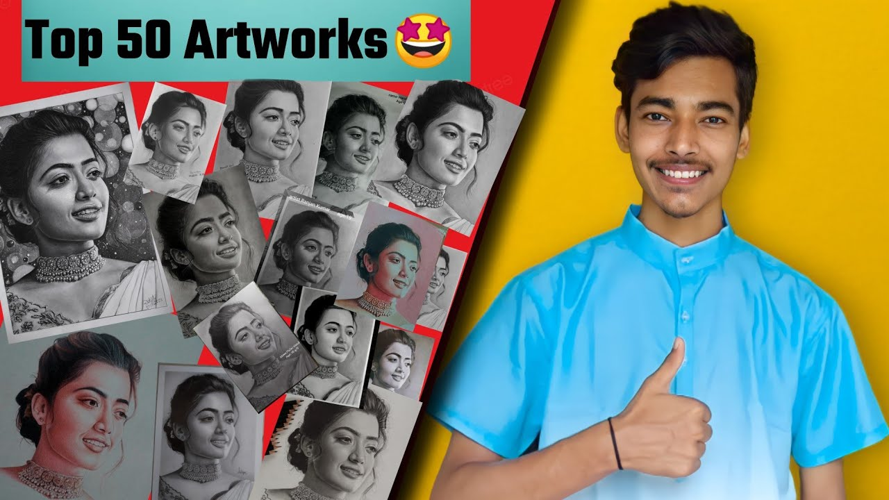 Top 50 Artworks of Art Competition 🤩