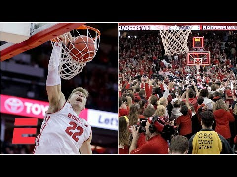 Wisconsin hands No. 2 Michigan first loss in Madison shocker  College Basketball Highlights