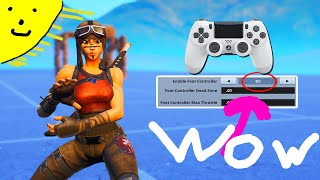 THIS FORTNITE CONTROLLER SETTING GIVES YOU KEYBOARD AND MOUSE AIM **Fortnite Best Settings**