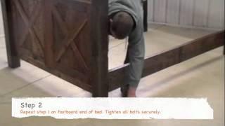 Fireside Lodge Furniture Barnwood Bed