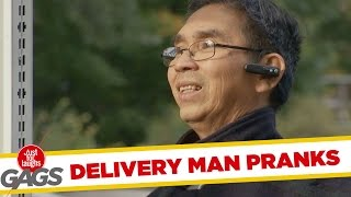Delivery Men Get Pranked - Best of Just For Laughs Gags