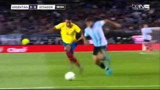 Antonio Valencia vs Argentina - Full tank mode
