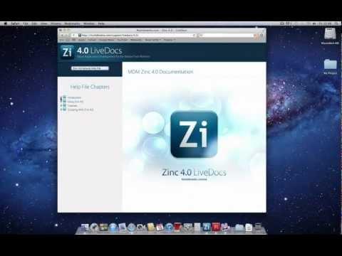Zinc 4.0 - Quickstart Guide for ActionScript 2.0