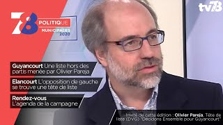 7/8 Politique : Municipales 2020. Emission du 19 novembre 2019